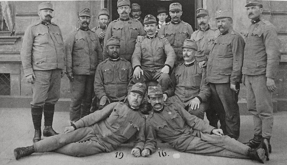 Pečecké vojsko z roku 1916.