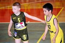 Z turnaje basketbalových přípravek