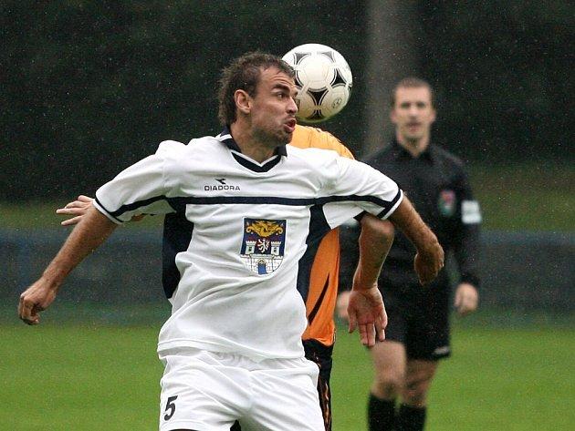 Z pohárového utkání Kolín - Mladá Boleslav (0:4).