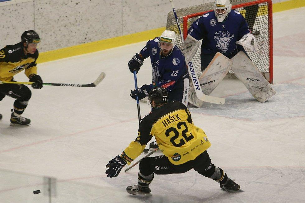 Hokejové utkání Chance ligy Kolíne - Sokolov