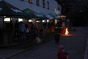 Chladné teploty zkomplikovaly svatováclavský večírek