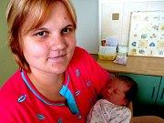 Kateřina Žďárská přišla na svět 12. června 2012 s mírami 52 centimetry a 3920 gramů. Maminka Lucie, tatínek Josef a třináctiměsíční bráška Pepíček se z ní radují v Sánech.