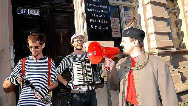 První tóny Kmochova Kolína se rozezněly již ve čtvrtek