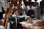 Nádvoří patřilo farmářskému trhu
