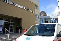Oblastní nemocnice v Kolíně.