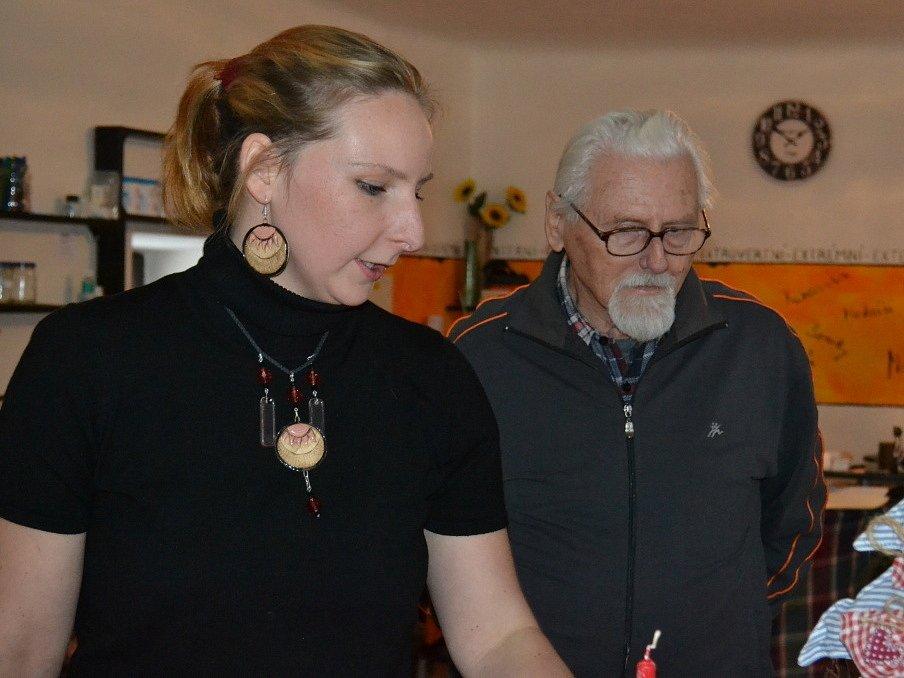 Eliška Sochůrková a Lucie Černá slavnostně otevřely ateliér