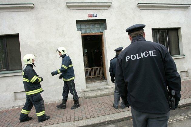 V českobrodské Kollárově ulici unikal ve středu 28. ledna plyn. K výbuchu naštěstí nedošlo.