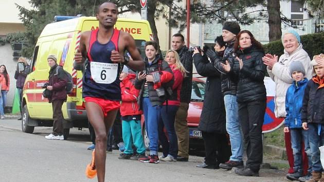 Vítězem 37. ročníku Pečecké desítky se stal keňský vytrvalec Joel Maina Mwangi.
