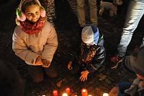 Kolínáci vzpomínali na události 17. listopadu, řeč přišla i na Paříž