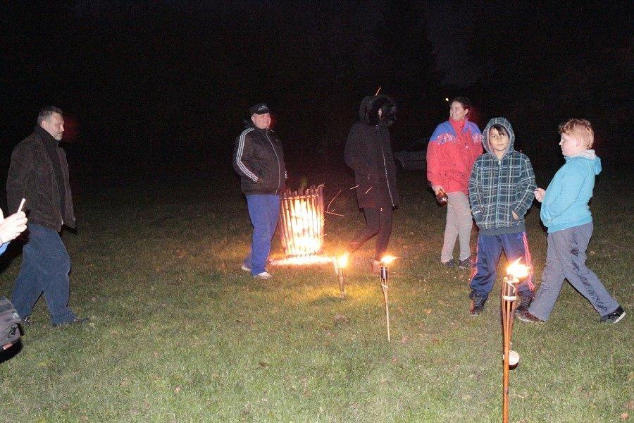 Kouřimským špatné počasí nevadilo, sešli se na rodinné akci.