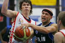 Z utkání BC Kolín - BK Pardubice B
