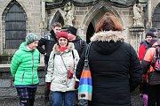 Počátkem nového roku se 19 občanů z Červených Peček pod záštitou kulturní komise v čele s Lukášem Istenčinem vydali na tradiční Tříkrálový pochod.