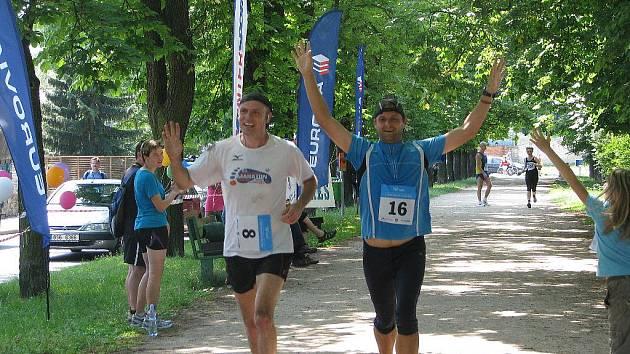 První ročník Mezinárodního festivalu běhu v Kolíně