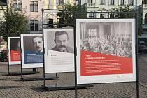 Výstava na Karlově náměstí v Kolíně mapuje události let 1914 - 1918.