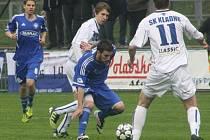 Z utkání FK Kolín - Kladno (1:0).