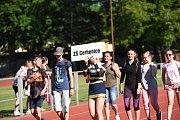 Ze zahájení Kolínských sportovních dnů základních škol 2019.