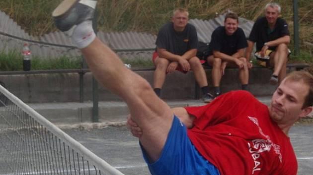 Z nohejbalového turnaje v Konojedech