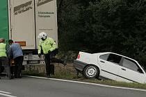 Dopravní nehoda za Novou Vsí I. 31. srpna 2010