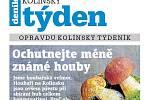Titulní strana třicátého čísla týdeníku Kolínský týden.