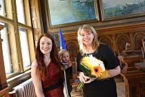 Cenu města Kolína získala zesnulá Hana Greenfieldová.