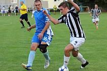 Z utkání Břežany II - Tuchoraz (4:1).