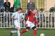 Z utkání Býchory - Tuchoraz (2:0).