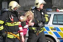 Rozsáhlé cvičení záchranářských složek – ozbrojený pachatel ve škole v Kolíně