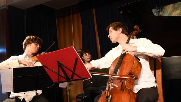 Koncert souboru Trio Incendio v rámci cyklu Kruh přátel hudby v Kolíně.