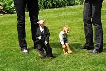 Hurvínkův taťulda Spejbl letos slaví sté narozeniny