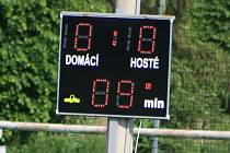 Z utkání Červené Pečky - Benešov B (1:3)