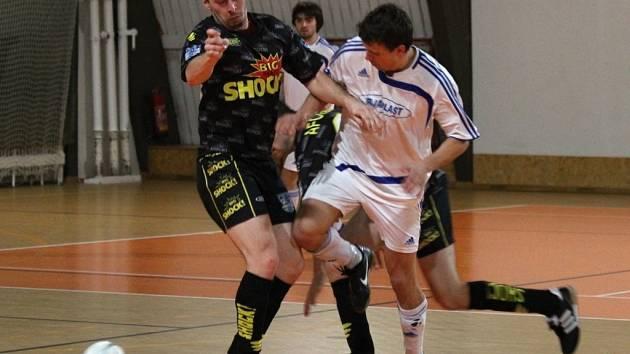 Z utkání SKP Kolín - AFC Kralupy (10:3).