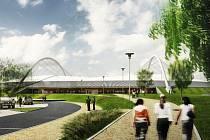 Budoucí Národní bruslařský stadion