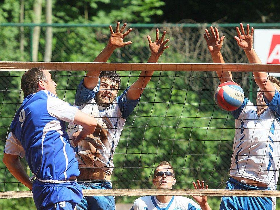 Volejbalisté Kolína porazili dvakrát Poděbrady a díky tomu se dostali v tabulce před ně na druhé místo.