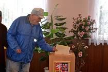 Senátní volby na Kolínsku.