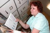 Růžena Hronová zná všechny své pacienty.