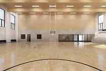 Vizualizace: víceúčelová sportovní hala vyroste v kolínských Borkách.