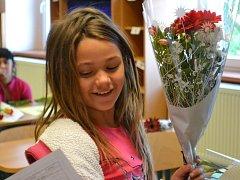 Radimské děti si zasloužily pěkné známky