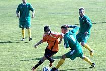 Z utkání Karlovy Vary - FK Kolín (1:4).
