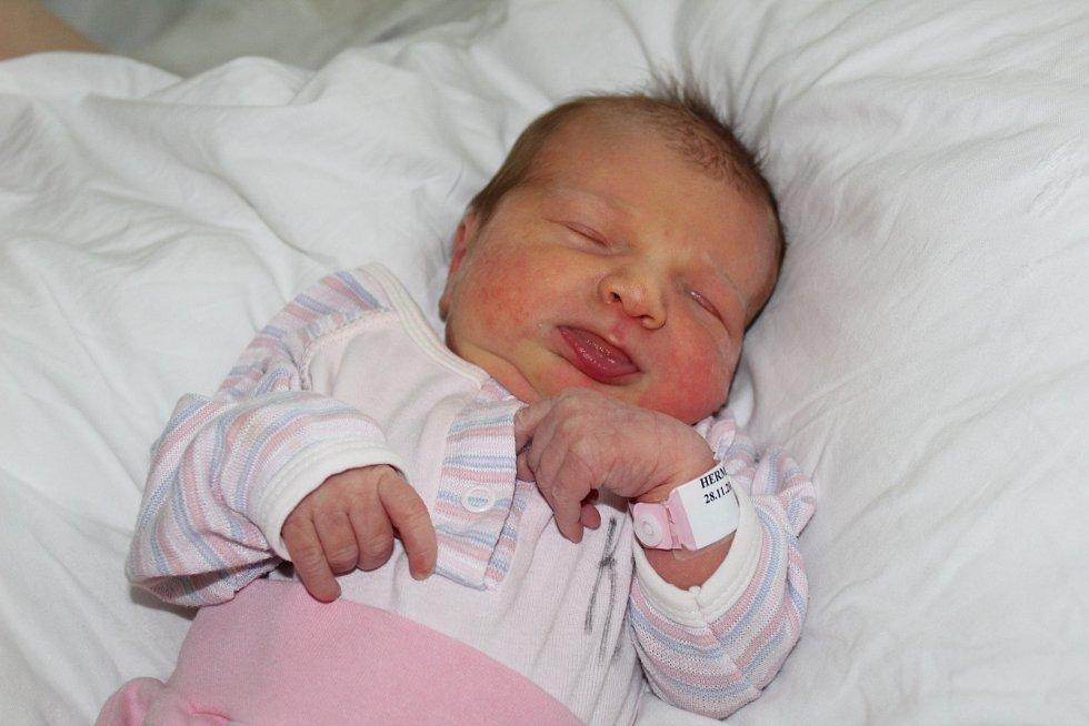 Alžběta Hermanová přišla na svět v Kolíně 28. listopadu 2017. Vážila 3695 gramů a měřila 53 centimetrů. S maminkou Kateřinou a tatínkem Jakubem odjela domů do Kolína.