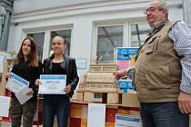 Vyhlášení výsledků soutěže Modelplus v Kolíně