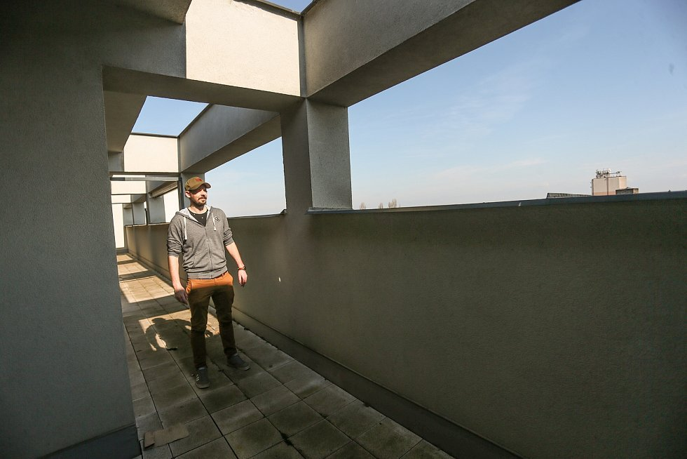 Radnice v Kolíně: nižší střecha. Na snímku Michal Pazdera.