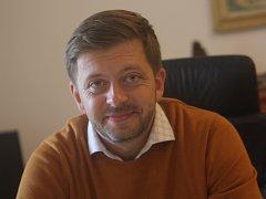 Kolínský starosta a poslanec Vít Rakušan. Jeho Změna pro Kolín získala v komunálních volbách v roce 2018 celkem 21 mandátu z 27členného zastupitelstva.