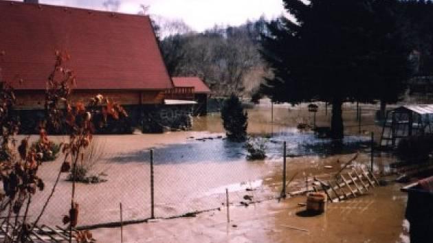 Povodně v roce 2002.