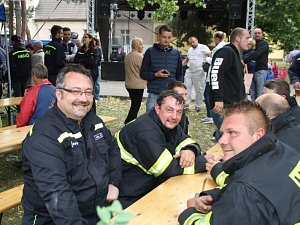 Cerhenice slavily své dobrovolné hasiče.