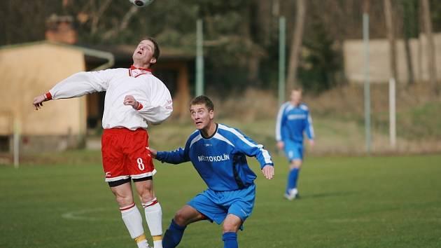 Z utkání FK Kolín - Union Cheb (3:0).