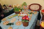 Velikonoční vajíčka na mnoho způsobů zaplnila Obecní úřad