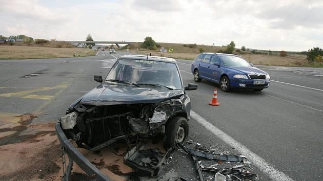 Dopravní nehoda u Plaňan. 4. října