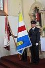 V kostele sv. Václava se konalo slavnostní posvěcení vlajky.