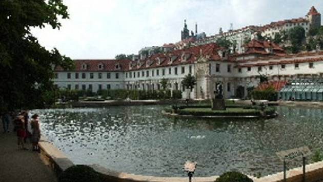 Valdštejnská zahrada.