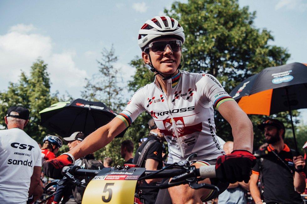 Polská sportovní superstar, mistryně světa a dvojnásobná olympijská medailistka, bikerka Maja Włoszczowska, bude největší osobností sobotního Krakonošova cyklomaratonu.
